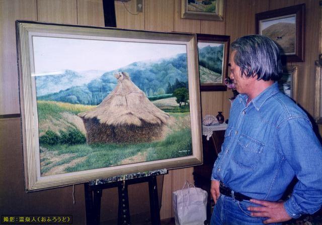 自然の在り様を描く :波暮旅二 画伯(テンペラ画)23