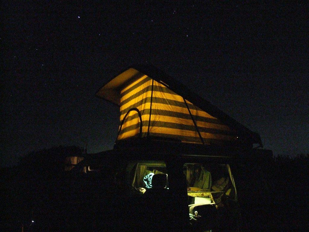 ★アーカイブ:愛車旧デリカと小名浜の浜辺で星空(2008.12.30)