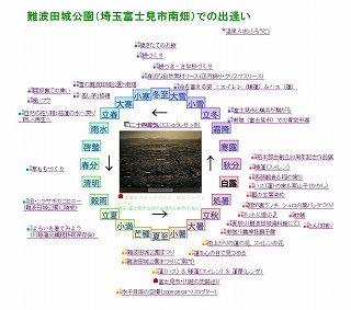 難波田城公園(埼玉富士見市南畑)での出逢い