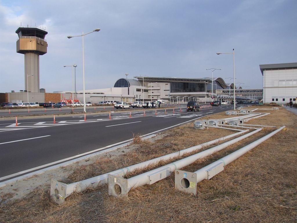 仙台空港(震災後の現在の姿)