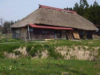 茅葺の民家