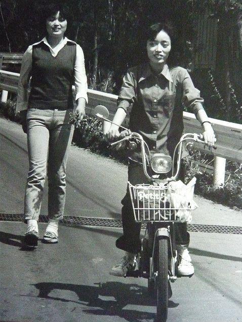 清ちゃん(義子ちゃんとバイク)
