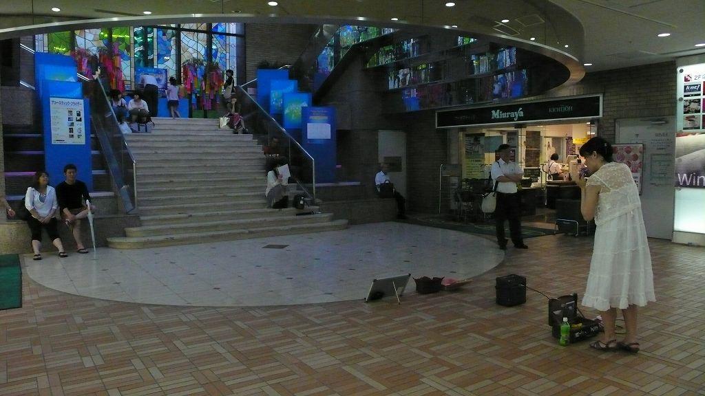舞歌(ヘブンアーティスト・オカリナ):ラムラ区境ホール