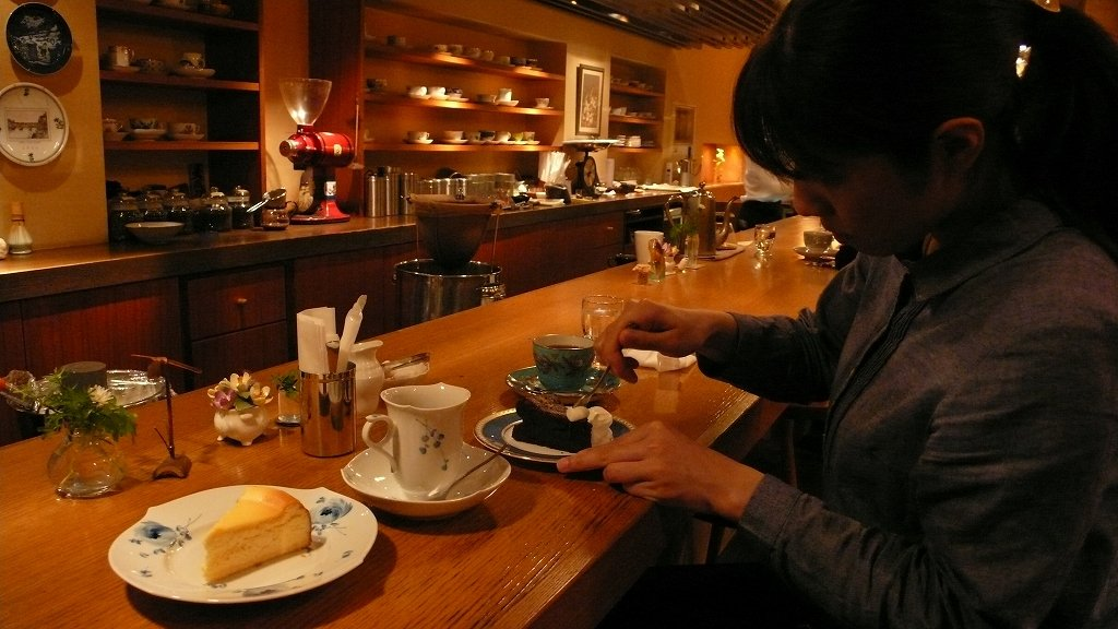 銀座(喫茶「凛」)