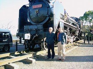 父と鉄道・機関車