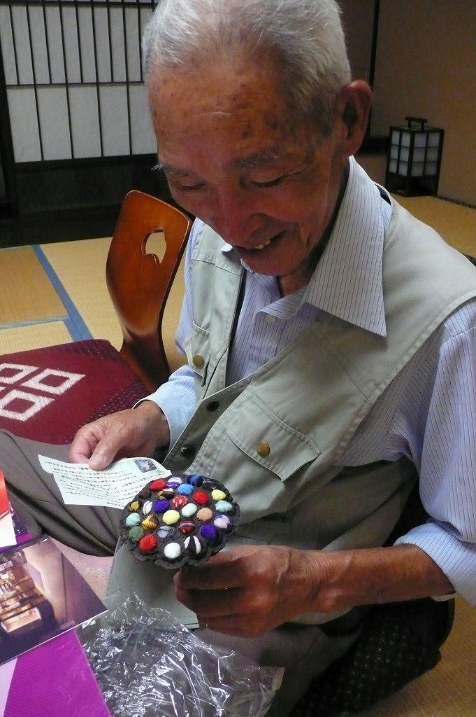父の米寿祝い(柳川温泉にて)