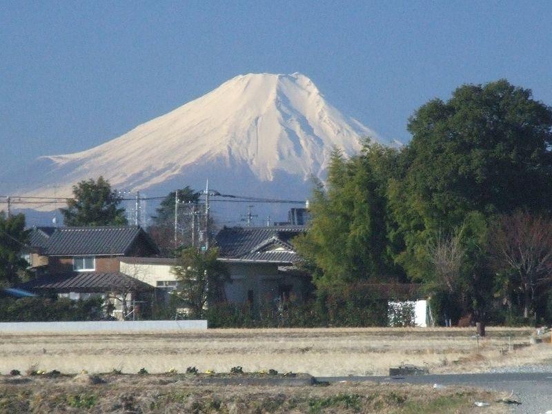 富士見市から臨む富士山