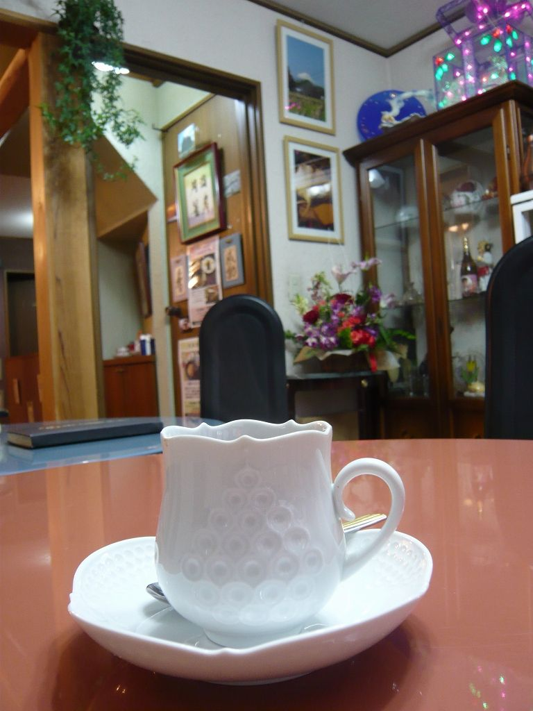 炭火珈琲「円満茶房」での記憶(2009年12月26日)