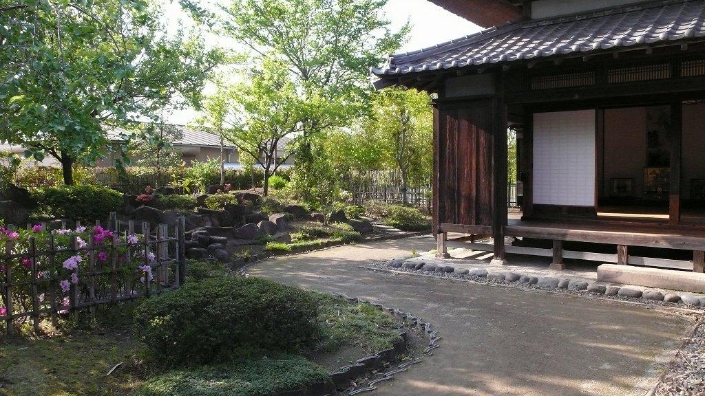端午の節句(難波田城公園)