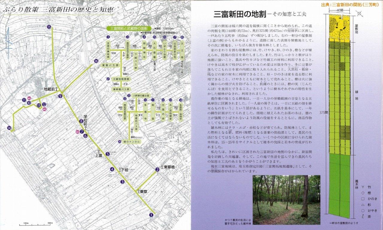 s-「三富新田の開拓」�