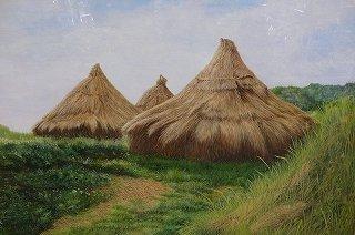 自然の在り様を描く :波暮旅二 画伯(テンペラ画)