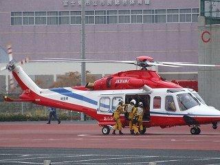 ヘリでの救助訓練 & ヘリコプターとの縁