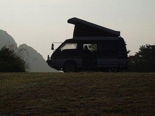★アーカイブ:愛車旧デリカと内山牧場キャンプ場(2007.8.26)