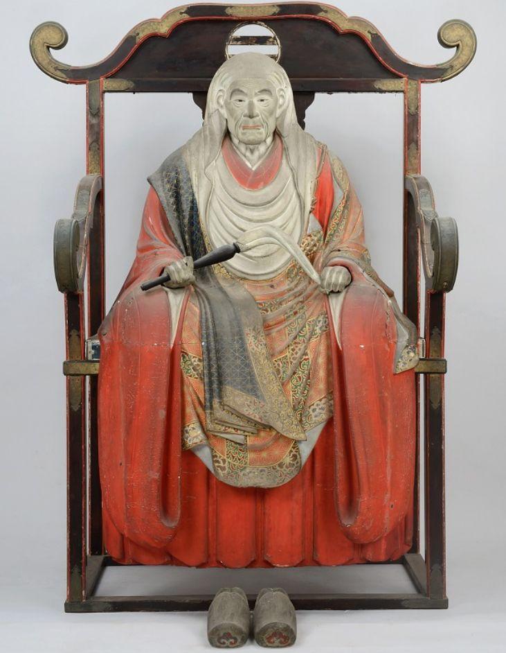 木造天海僧正坐像 喜多院蔵
