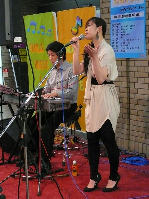 RAMLAライブ(松永明子&若宮功三)7/14