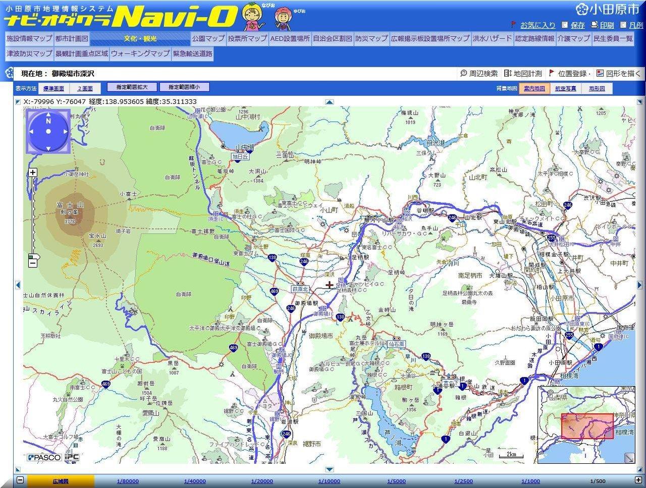 小田原地図