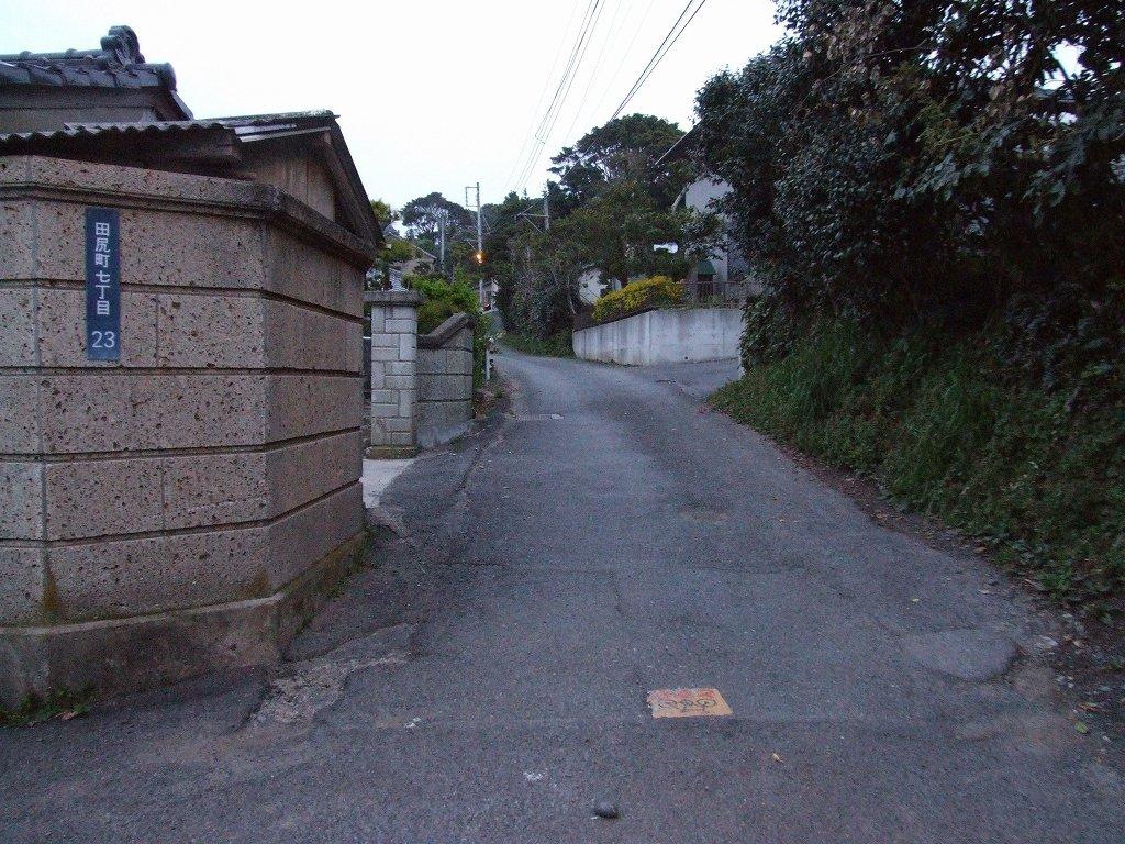 田尻浜にて、断崖の雫、大森さんとハナちゃんと散歩