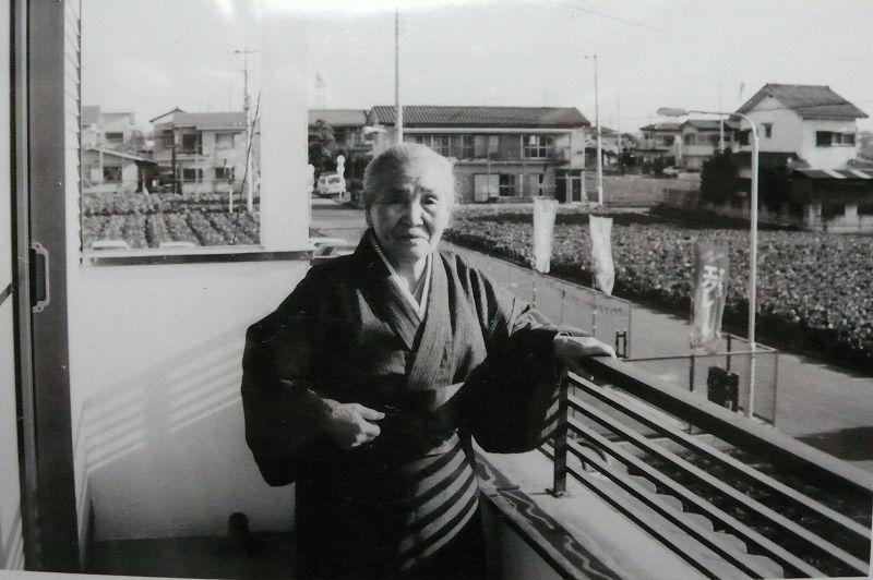 ばあちゃん(富士見市の我が家にて)