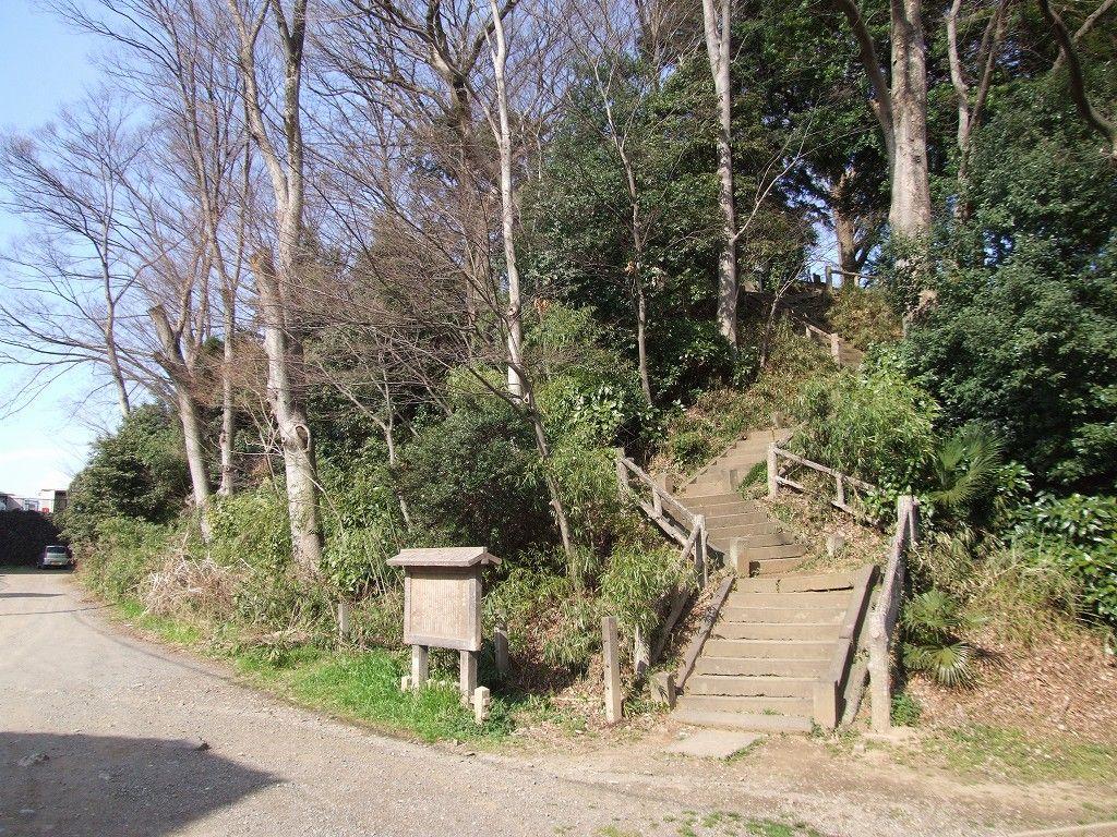 富士見櫓(やぐら)跡【川越城】