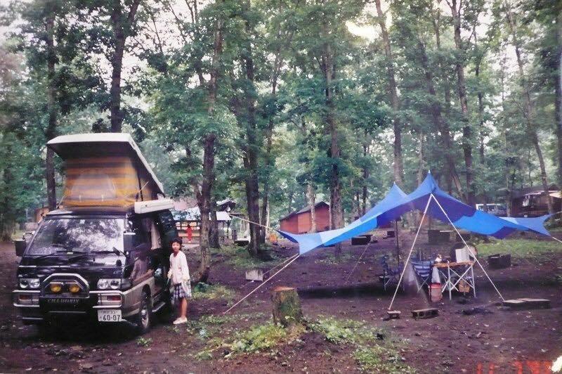 デリカでキャンプ