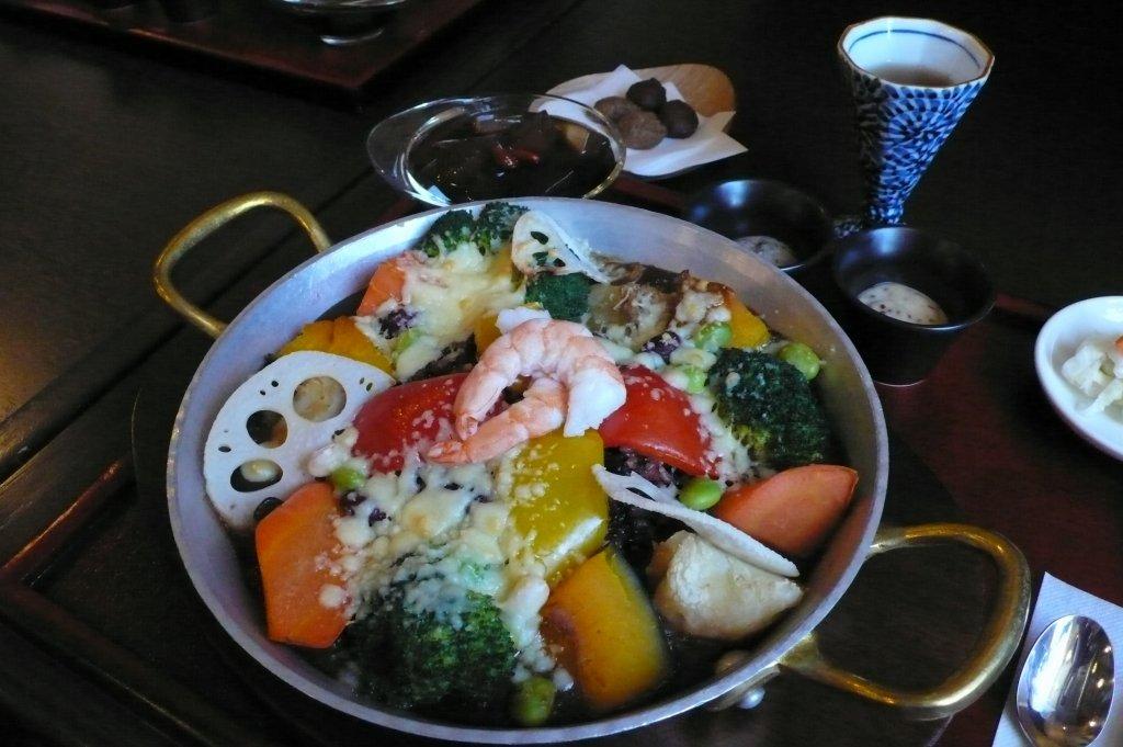 野菜のデトックス薬膳カレー(銀座カフェビストロ)