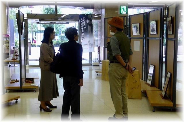 RAMLA・エントランスホールにて(工坊さん撮影)