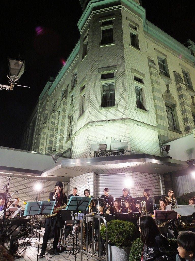 s-ビッグバンド(東邦音楽大学):川越一番街りそな銀行前