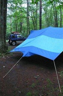 キャンプサイトの設置から撤収まで
