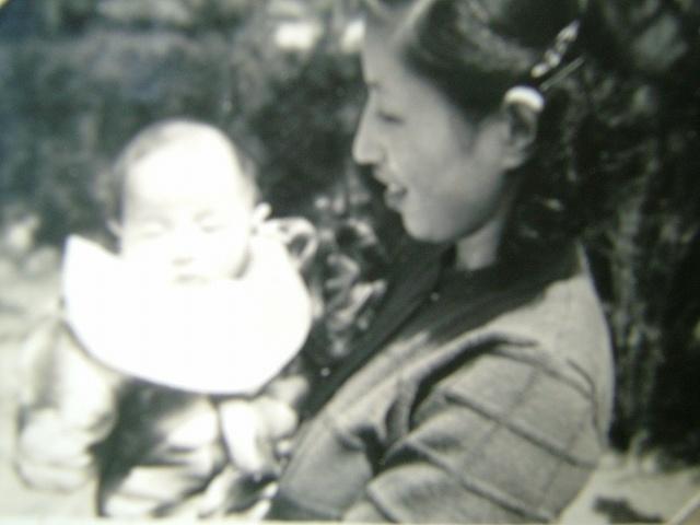 温泉人(おふろうど)と母