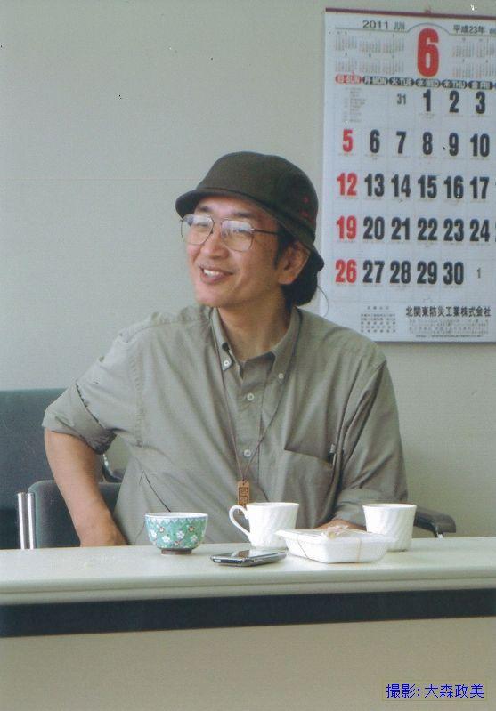 日立市田尻での講演にて