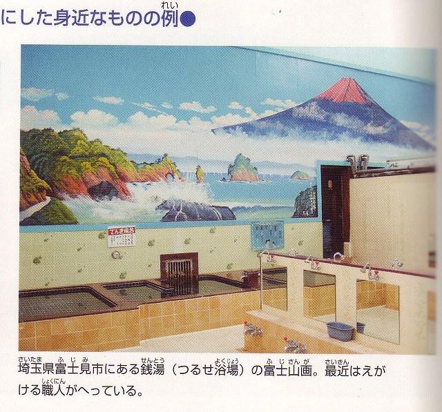 暮らしの中の富士山3