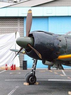 零戦エンジン始動!:所沢航空発祥記念館特別展