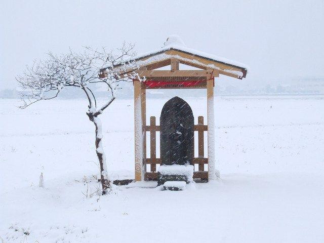 馬頭観音(雪の日)