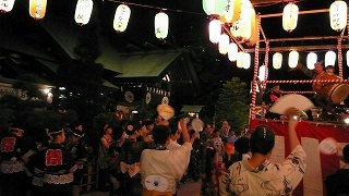 納涼盆踊り大会;東京大神宮(2012.8.9)