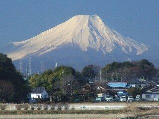 s-富士見市からの富士山