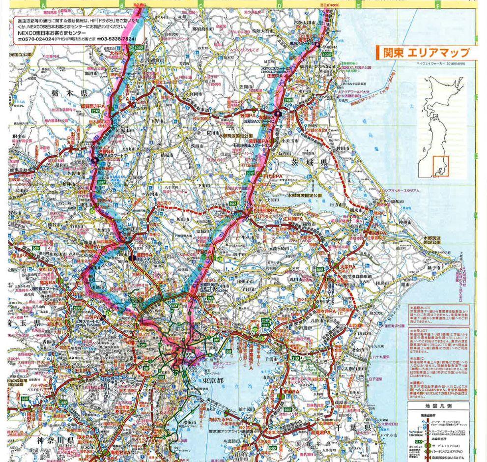 地図(足跡)�