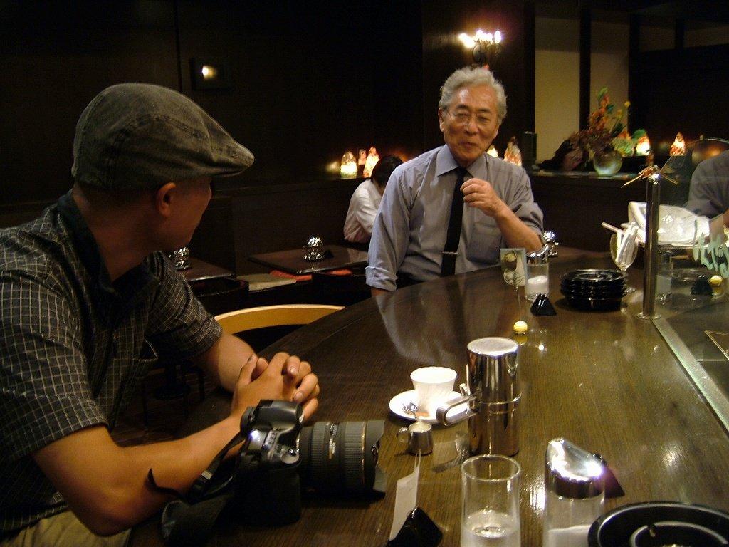 Com「想」こと井上さんと、ぴんぜるさんこと佐藤さん