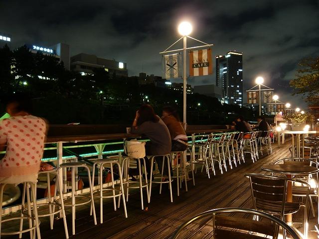 カナルカフェ(RAMLA近く、水辺の喫茶・レストラン)