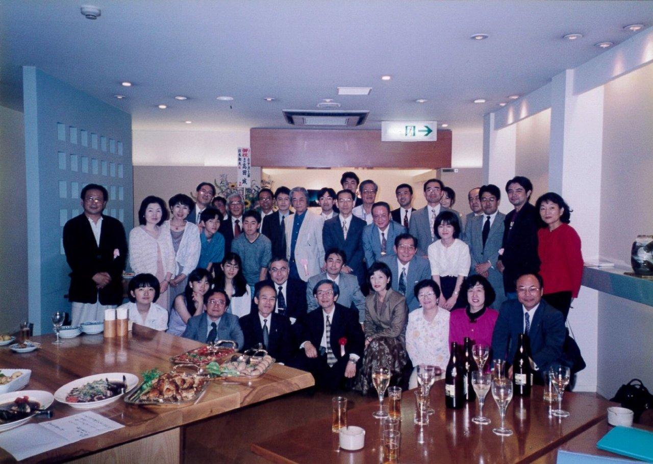 s-★「心の風景のデッサン」出版記念会での記念写真