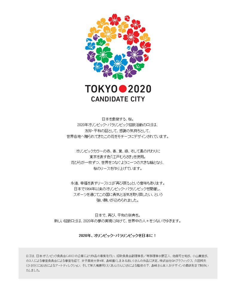 2020年オリンピック・パラリンピック招致活動のロゴ