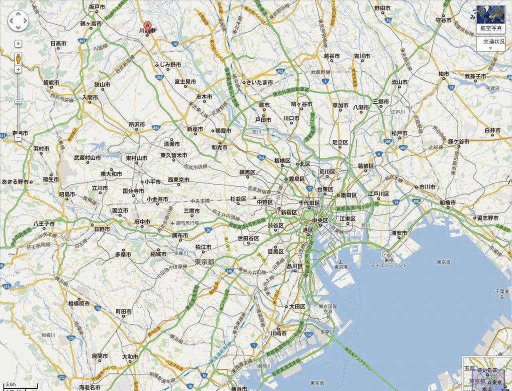 川越(地図)