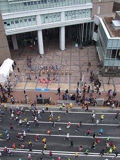 東京大マラソン祭り2012:飯田橋にて