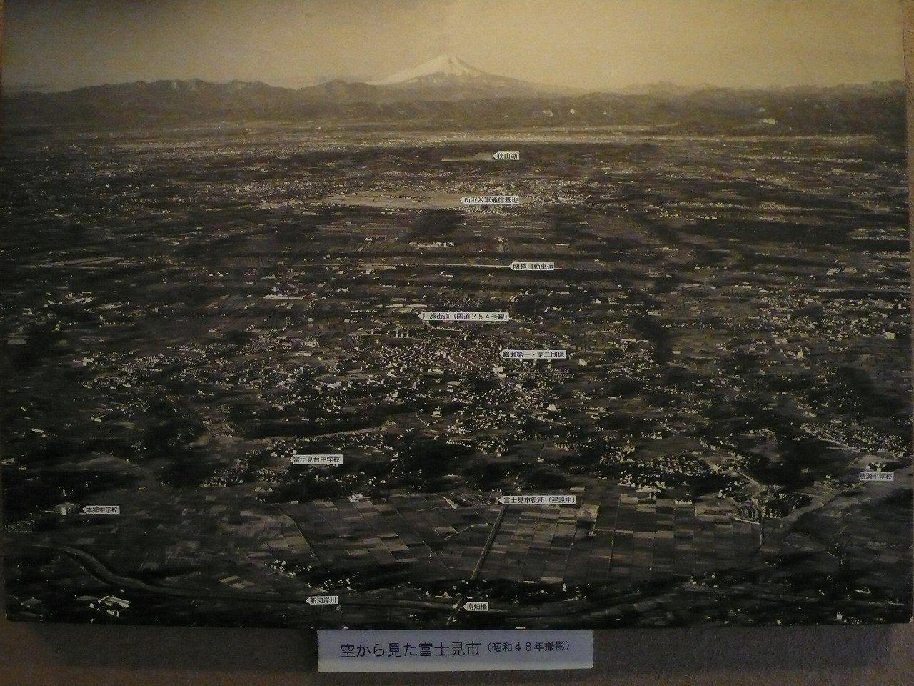 空から見た富士見市