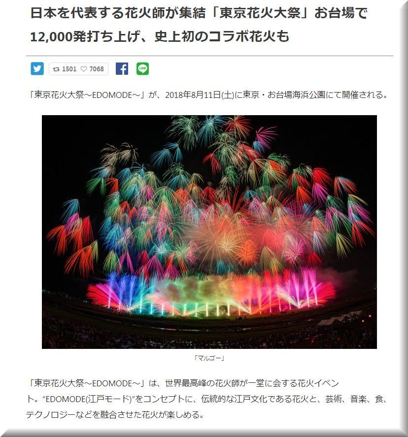東京花火大祭�