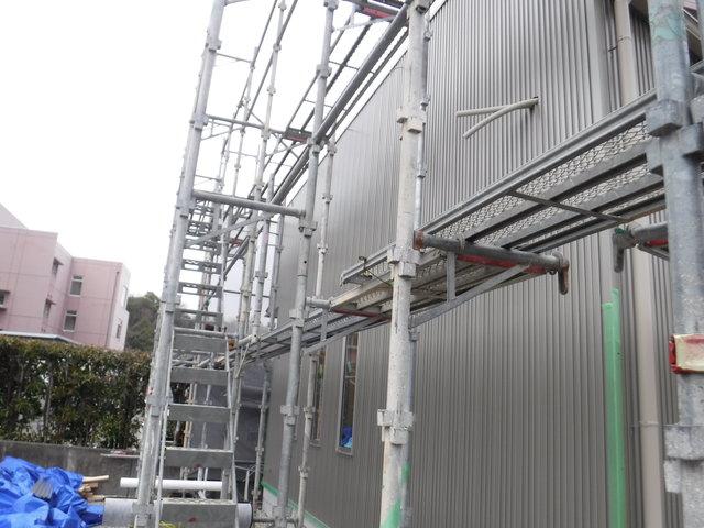 ノーメンテ素材ガルバリウム鋼板 オガサ製工のポジブロ高知