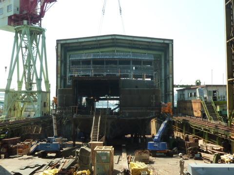② 渡辺造船所の船台