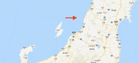 粟島map