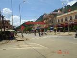 ソンラ省 町の様子