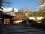観心寺山門