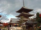 三重塔と礼堂